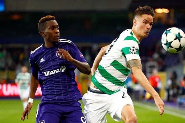Onyekuru Rues Anderlecht's Home Defeat To Celtic In UCL