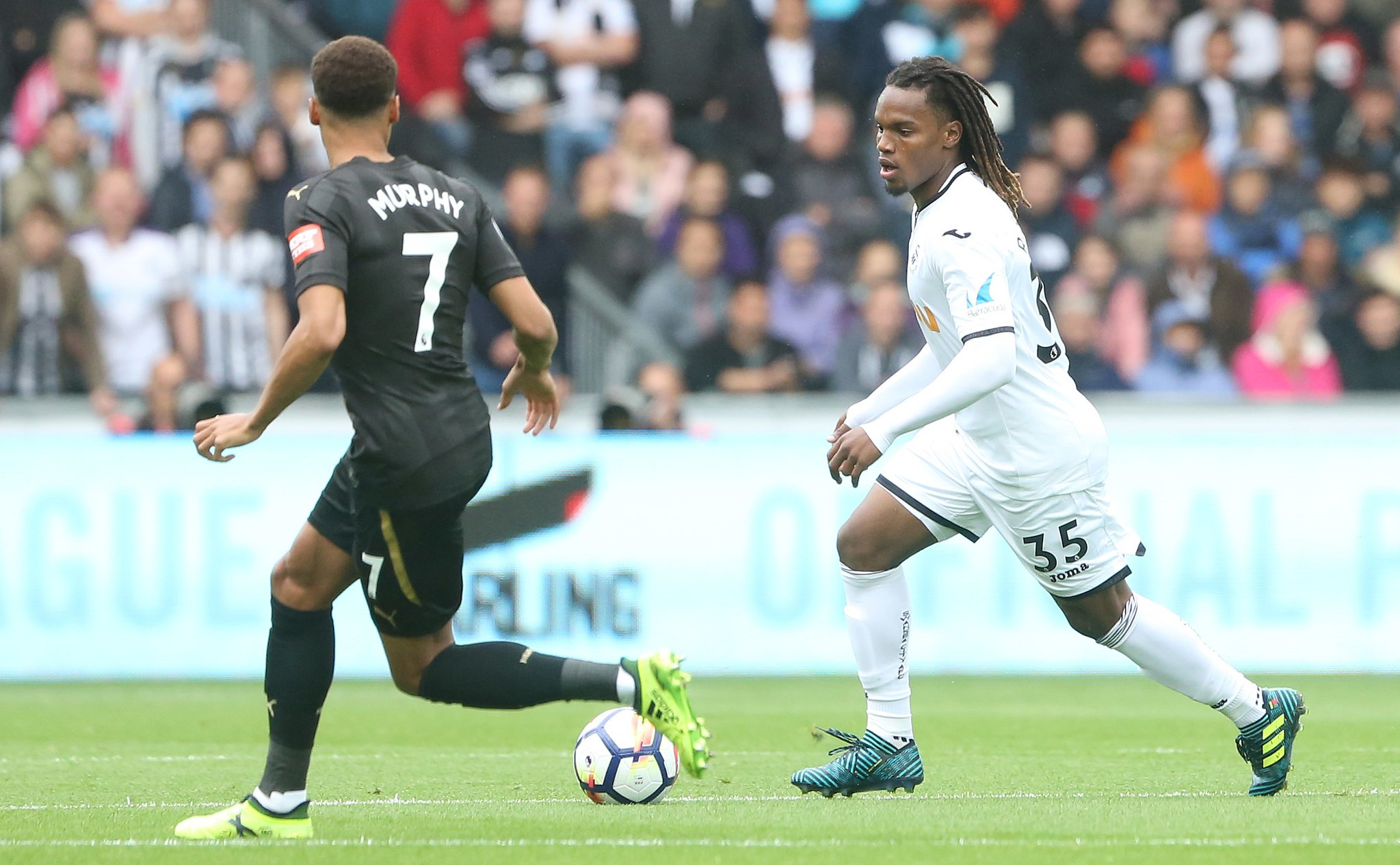 Abraham Fires Blanks, Sanches Struggles As Newcastle Edge Swansea
