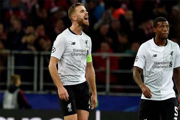 UCL: Henderson Urges Liverpool Improvement In Goal Scoring