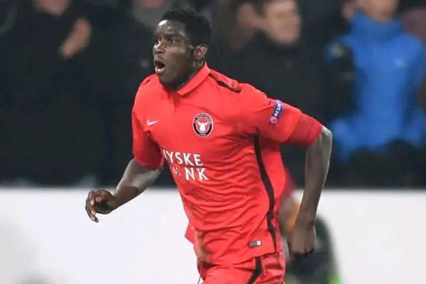 Onuachu Hits Hat-Trick, Onyeka Scores As Midtjylland Rout Greve