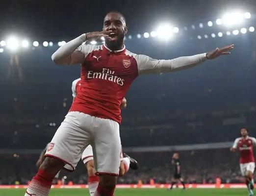 Lacazette Hits Brace As Arsenal Edge West Brom, Iwobi Missing
