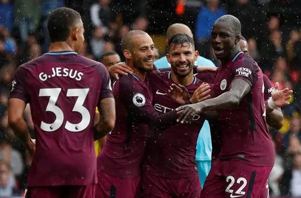Guardiola Praises Man City, Aguero After Watford Rout