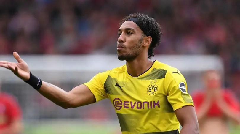 AC Milan Claim Dortmund Blocked Aubameyang's Return To Serie A Last Summer