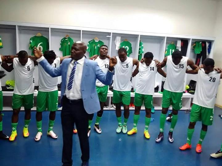 Zambia Coach Nyirenda Warns Players To Be Psychologically Ready For Nigeria