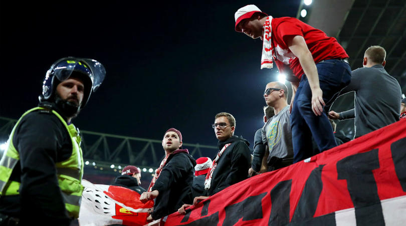 Arsenal Open Investigation Into Cologne Fans Invasion Of Emirates Stadium