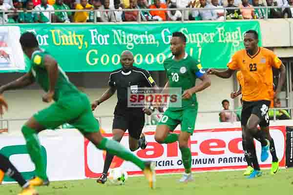 FIFA Dismiss Zambia FA Protest Against Super Eagles Vs Chipolopolo Referee