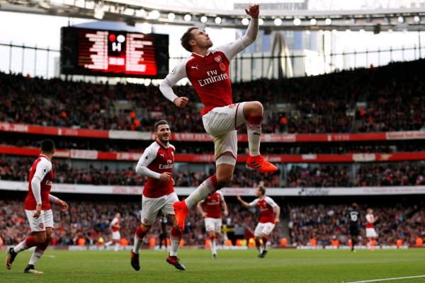 Iwobi Benched As Arsenal Overcome Swansea; Liverpool, Man City Win