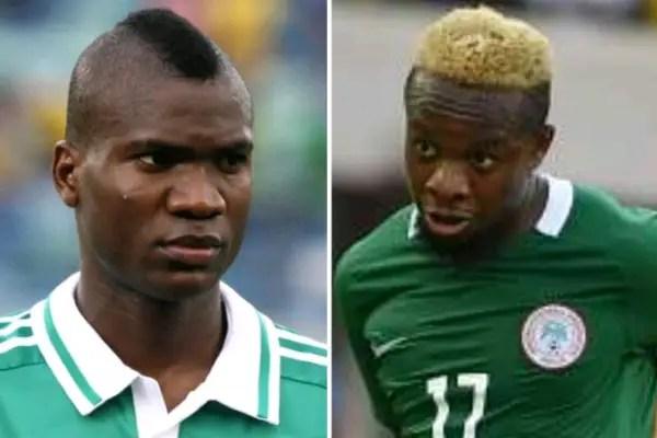 Super Eagles Stars Ideye, Onazi, Ogu Celebrate Nigeria At 57