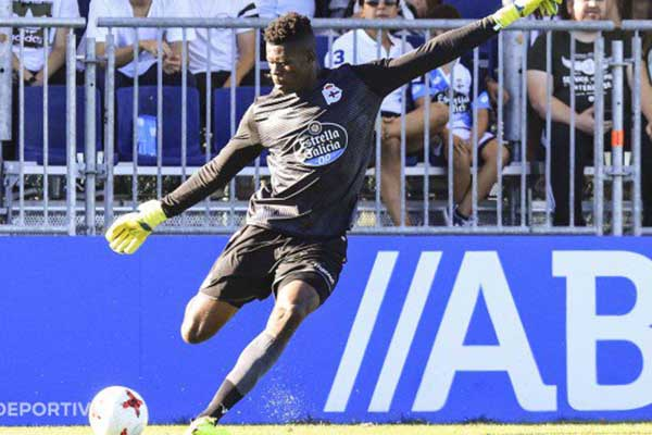 Super Eagles Keeper Uzoho Concedes Twice As Deportivo Fabril Lose