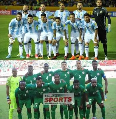 Argentina 5 – 1 Nigeria: La Albiceleste Dominate Super Eagles Head-To-Head Ahead November 14 Friendly