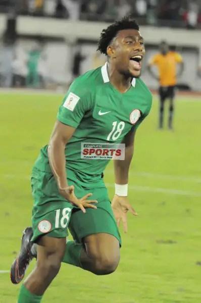 Arsenal Wish Iwobi Good Luck As Nigeria Clash With Argentina Today
