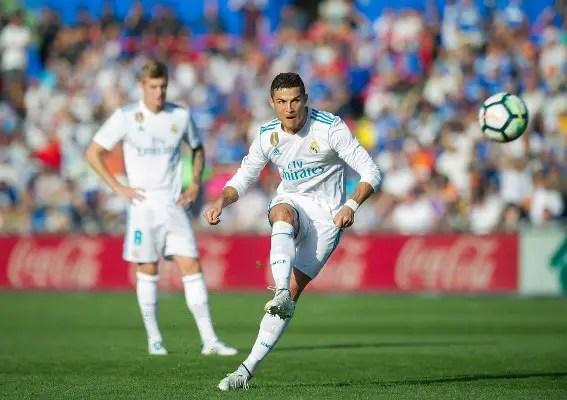 Ronaldo Bags Winner As Real Madrid Set LaLiga Record