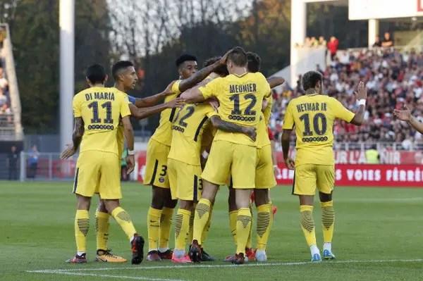 Neymar, Mbappe Fire Blanks As PSG Edge Dijon