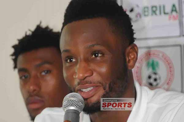 Mikel: Super Eagles Will Repel Strong Zambia Attack