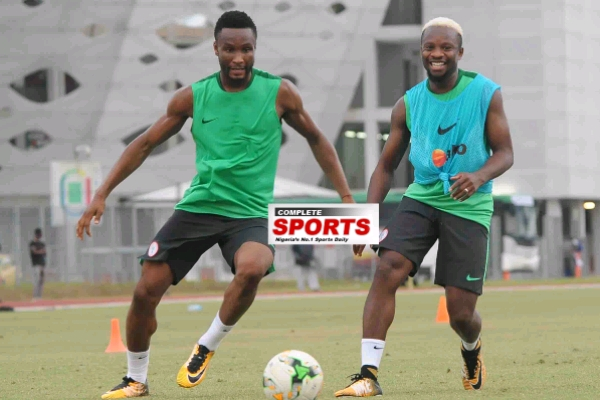 Rohr To Drop Mikel Vs Algeria, Hand Uzoho Super Eagles Debut