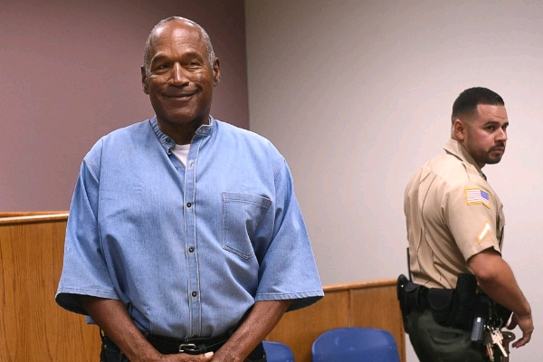 O.J Simpson Regains Freedom After Serving Jail Sentence Over  Robbery