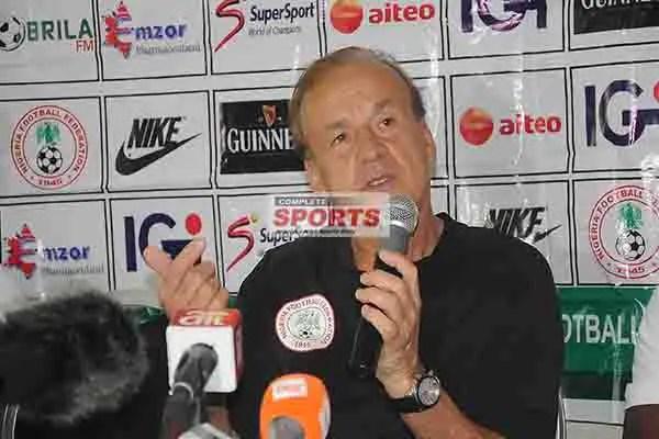 Rohr Explains Super Eagles Defeat To Croatia, Tactics, Mikel, Etebo Roles, Iwobi's Substitution