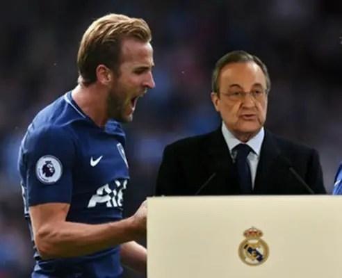 Real Madrid President Perez Denies Interest In Kane