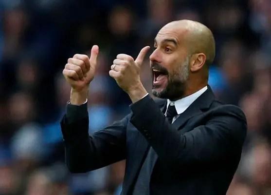 Guardiola Pleased With Man City Record, Praises Aguero