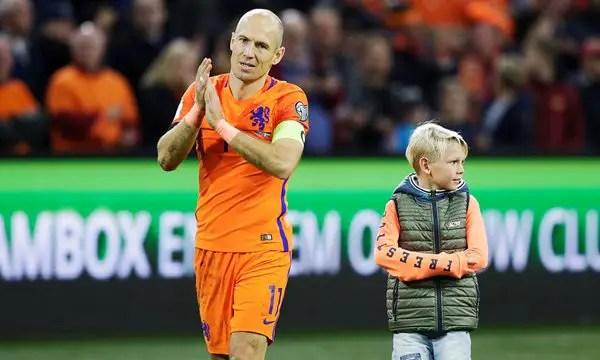 Robben Announces Retirement From Dutch National Team