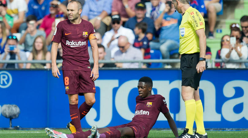 Dembele's Doctor Claims Stress Of Moving To Barcelona Influenced 4-Month Hamstring Injury