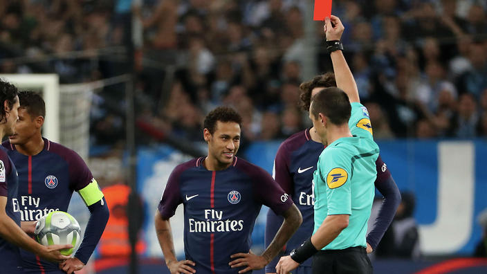 Neymar: Referee Unfair To Send Me Off After Failing To Protect Me Against Marseille