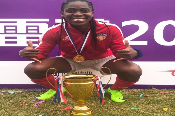 Oshoala Scores Brace As Damian Quanjian Win Chinese Women's Super Cup