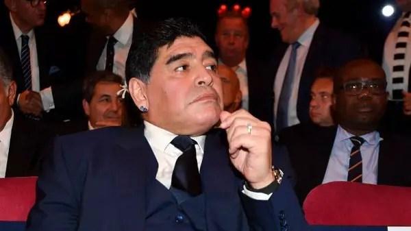 Maradona Backs Salah To Beat Moses, Mane To BBC African Player Award