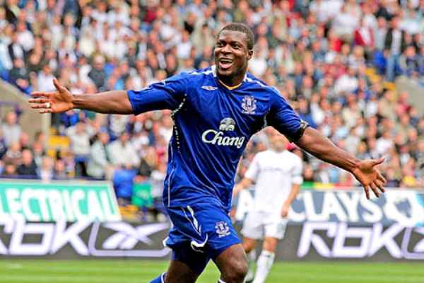Everton Honour Aiyegbeni On 35th Birthday, Retirement
