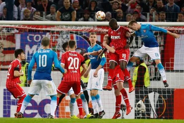 Europa: Iwobi Can't Rescue Arsenal Vs Cologne As Ogu, Nwakaeme's Beer-Sheva Crash Out
