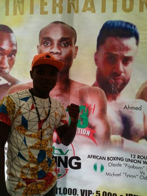 GOtv Boxing: Nigeria's Oto Battles Egypt's Ahmed For African Title As Falz, Simi Perform