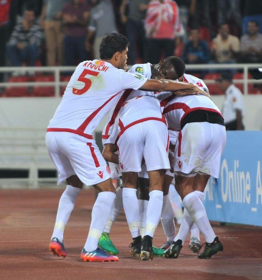 Ajayi In Action As Wydad Beat Ahly To Claim CAF Champions League Title