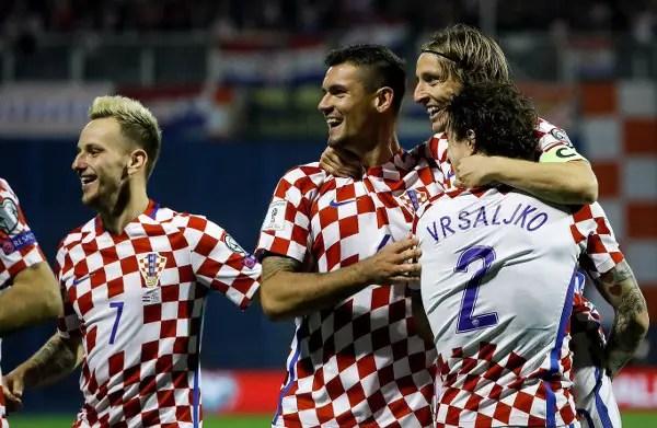 Russia 2018 Play-offs: Croatia Thrash Greece As Switzerland Stun Northern Ireland