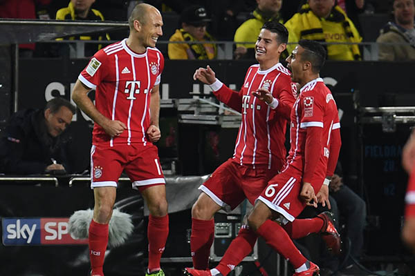 Robben Sets Bayern Record As Dortmund's Winless Streak Continues