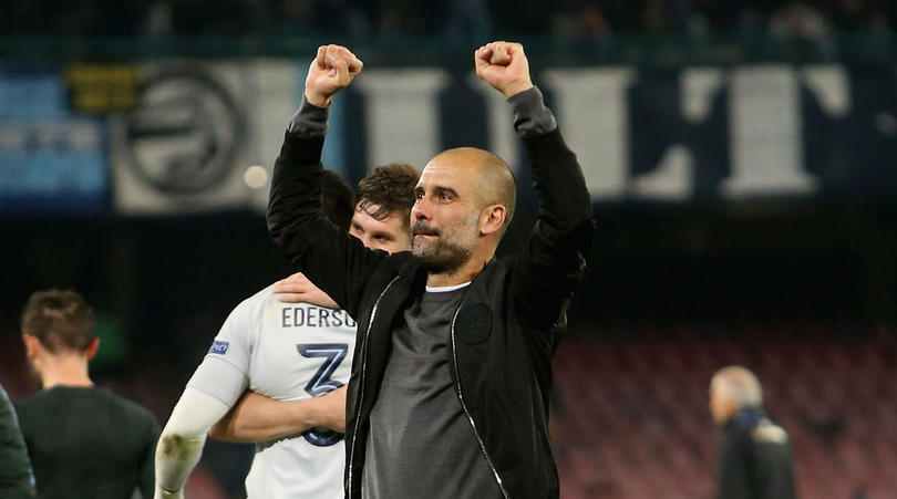 Guardiola Counts Blessings, Declares Himself Lucky To Be At Manchester City