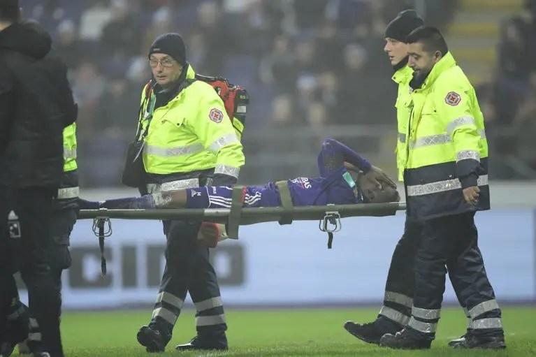 Onyekuru Injured In Anderlecht Win, To Undergo Knee Scan