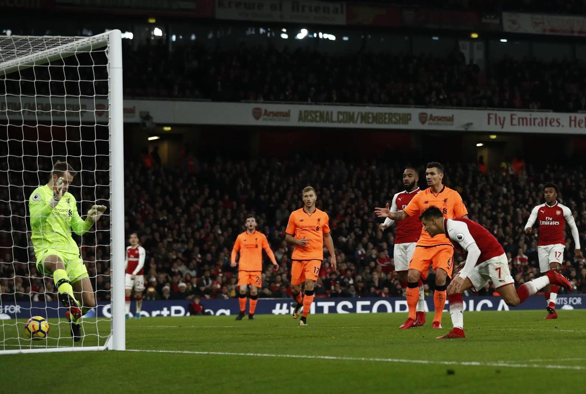 Iwobi Shines As Arsenal, Liverpool Draw In Emirates Thriller