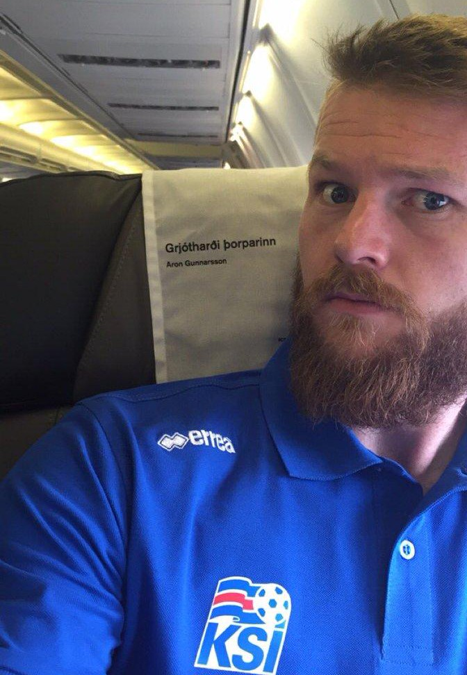 Iceland Captain Gunnarsson Wary Of 'Great Athletes, Physically Strong' Super Eagles