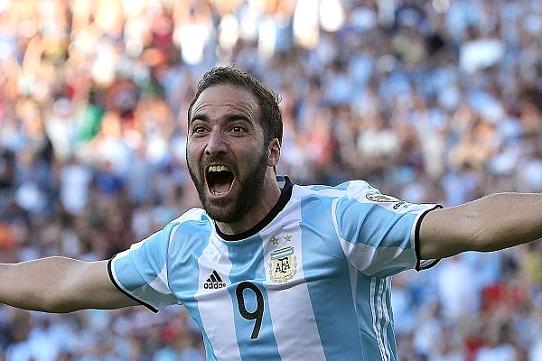 Argentine FA President Banks On Higuain To Beat Super Eagles At Russia 2018
