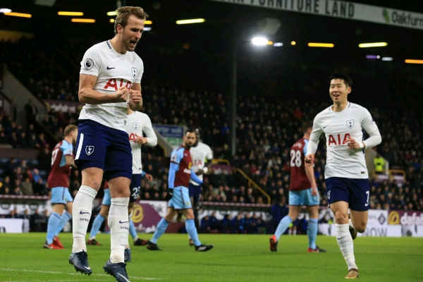 Kane Hits Hat-trick, Equals Shearer's Record as Spurs Thrash Burnley