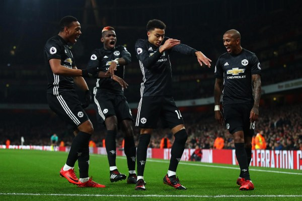 Iwobi Can't Save Arsenal As 10-Man United End Gunners' Home Run