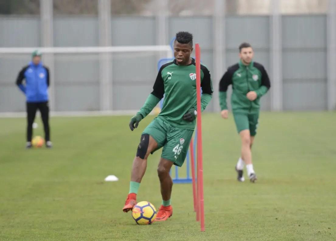 Mikel Agu Returns To Action In Bursaspor Draw