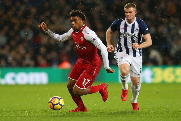 Iwobi In Action As West Brom Hold Arsenal On Wenger's Special Day