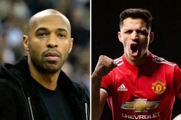 Henry Denies Advising Sanchez To Dump Arsenal For Man United