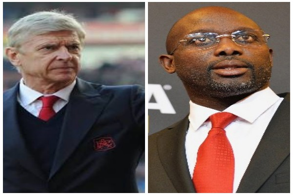 Wenger Confirms Invite To Attend Weah Inauguration, Says Life Of Liberia President-Elect Is Real Film