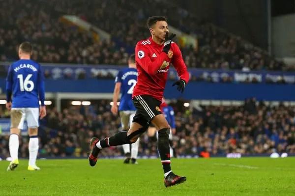 Man United End Poor Run As Martial, Lingard Punish Everton