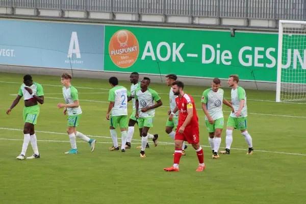 Osimhen Scores In Wolfsburg Friendly Win