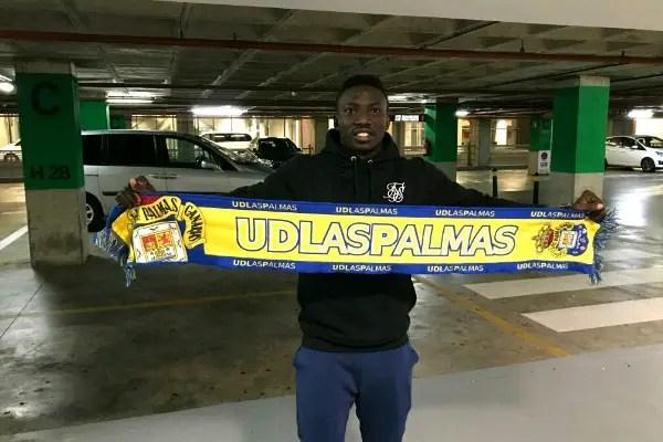 Etebo Joins Las Palmas On Loan From Feirense