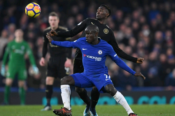 Ndidi Shines, Moses In Action As 10-Man Leicester Hold Chelsea; Palace, West Ham Win