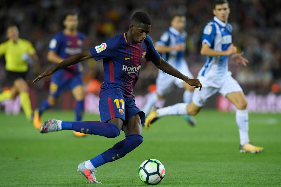 Barcelona Confirm Dembele Return After 15 Weeks Injury Lay-Off